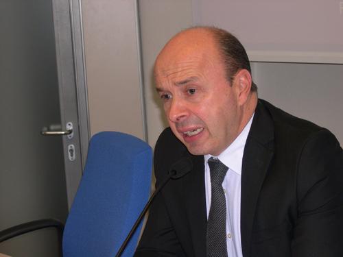 Il Presidente Andrea Sereni