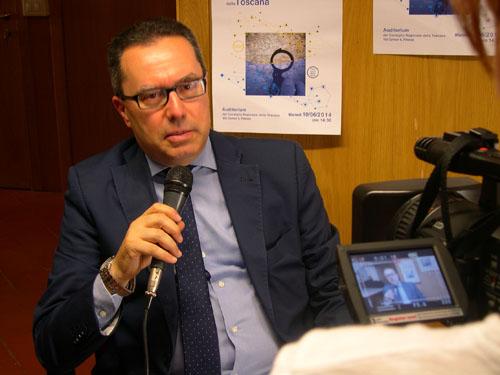 Il Presidente Stefano Morandi